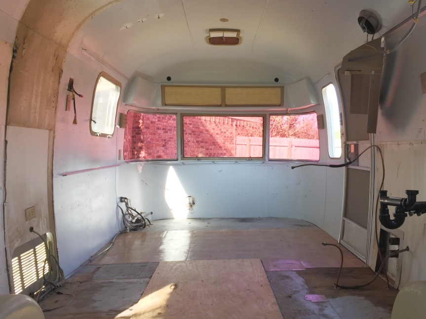 airstream argosy renovation goucho progress
